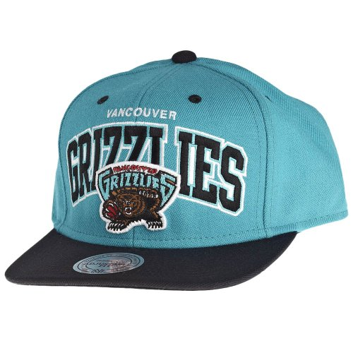 Mitchell & Ness and Vancouver Grizzlies Doubleup EU131 Snapback Cap OSFA Basecap
