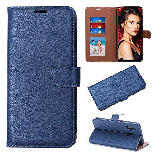 Samsung A20E Case – Samsung 20E Mobile Phone Case [RFID Blocker] Flip Wallet Case PU Leather for Galaxy A20E Card Slots…