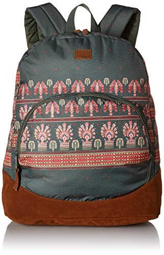 Roxy Junior's Fairness Backpack, Thyme Perfect Wave Border, 1SZ