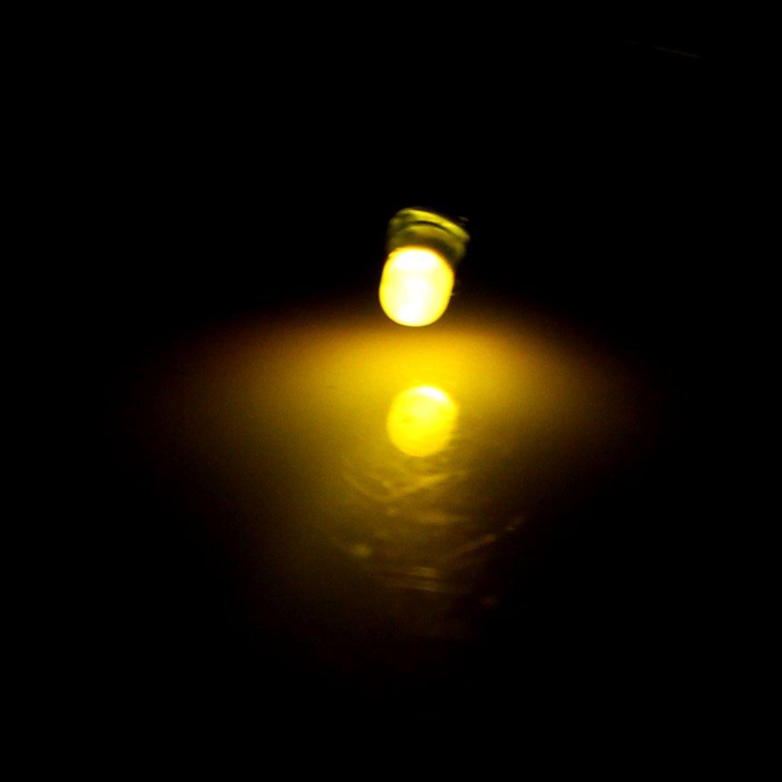 eDealMax DE 3 mm LED Verte est allumée Diffused Commune Anode Lampes à diodes électroluminescentes