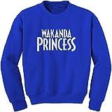 FerociTees Crew Wakanda Princess Adult Medium Royal Blue