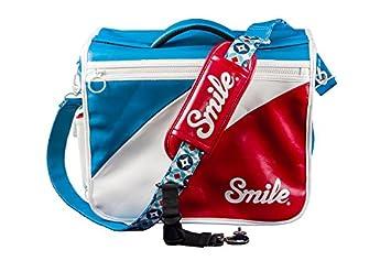Smile CAMERA BAG, Bolsa reversible para cámara réflex (DSLR), estilo mod, tamaño L (30x36x14cm)