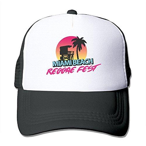 Fashion Miami Beach Trucker Hat Unisex (The Fashion Spot Halloween)