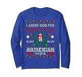 God Sent Armenian Wife Christmas Ugly Sw