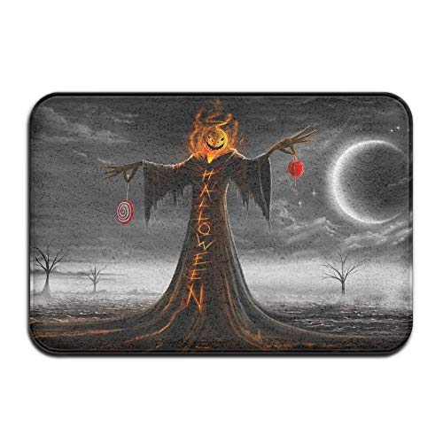 CIliik doormats Outdoor Door Mat, Doormat, Non-Slip Mat 40x60cm Doormat Halloween Pumpkin Non-Slip Rug - Collection Kitchen Dining Living Hallway Bathroom Pet Entry Rugs