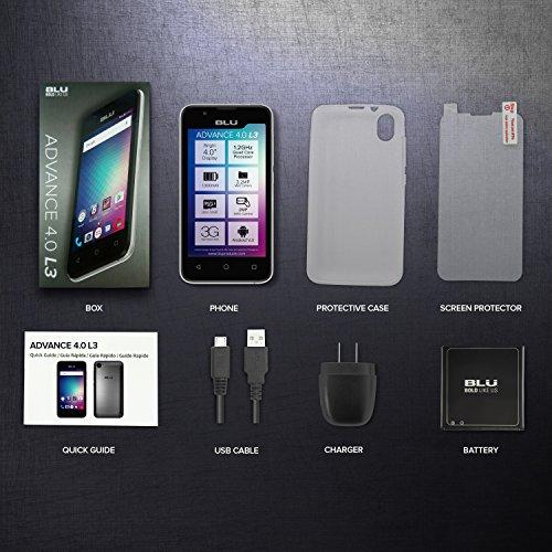 BLU-Advance-40-L3-Unlocked-Dual-Sim-Smartphone-Gold