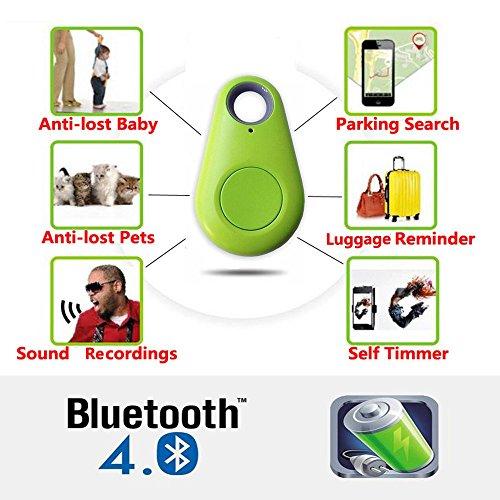 Smart Bluetooth Tracer Pet Child Wallet Key GPS Locator Tag Alarm(Green) - 3