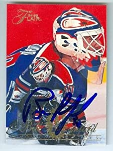 Autograph 212315 Edmonton Oilers Sc 1994 Flair No. 61 Bill Ranford Autographed Hockey Card