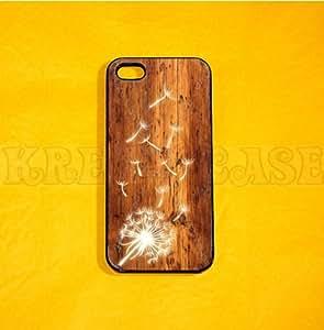 iPhone 5c case, Dandelion iPhone 5c case, dandelion iphone case, iPhone 5c case, Cover for iphone, iPhone 5c Case, Cute iPhone 5c Case(NOT REAL WOOD)