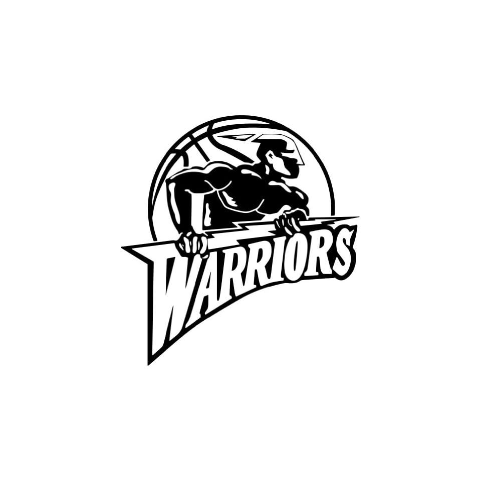 Golden State Warriors NBA Vinyl Decal Sticker / 4 x 3.8