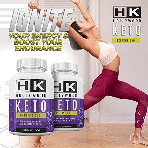 HK - Hollywood Keto Exteme BHB - Premium Grade BHB Ketones for Maximum Results - 30 Day Supply 4