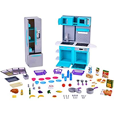 myLife Brand Products My Life As Kitchen Play Set, Multiple Assorted Colored Pieces Ages 5 Up: Toys & Games