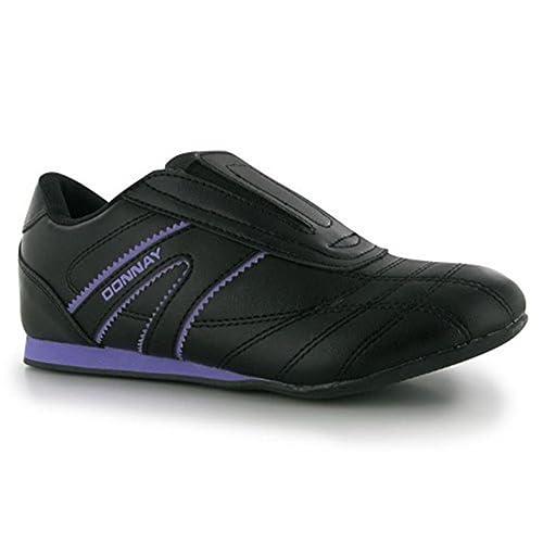 Donnay para Mujer Judotek Acolchado de Traje de Neopreno para Mujer de Zapatilla de Deportes Plantillas Elevadoras Zapatillas, Color Negro, ...