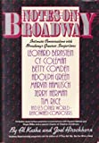 Notes on Broadway, Al Kasha and Joel Hirschorn, 0671635085