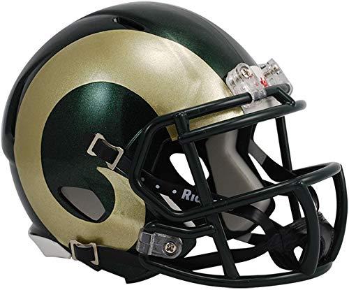 Sports Memorabilia Riddell Colorado State Rams Revolution Speed Mini Football Helmet - College Mini Helmets Colorado State Rams Helmet