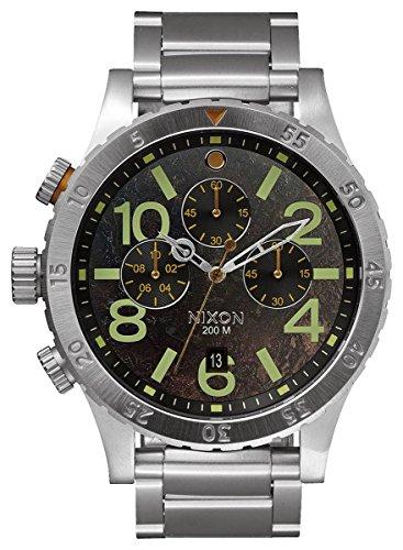 Dark Copper/Silver The 48-20 Chrono Watch by Nixon