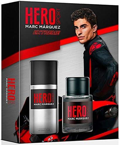 MARC MARQUEZ pack sport extreme colonia 100 ml + desodorante spray 150 ml: Amazon.es: Belleza