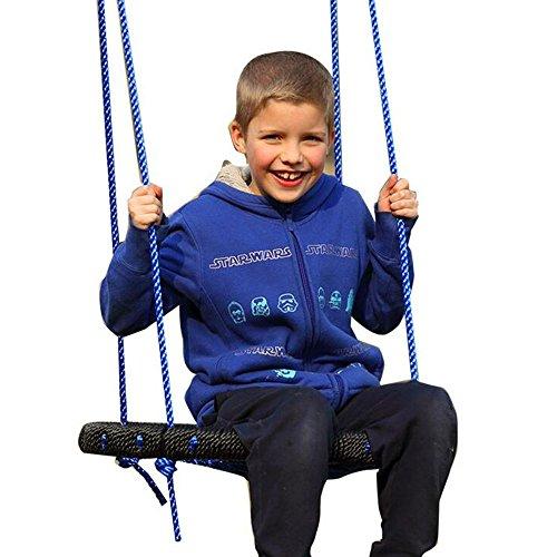 "Homeself Children 24"" Diameter Spider Web Swing for Outdoor and Indoor Playground Set"