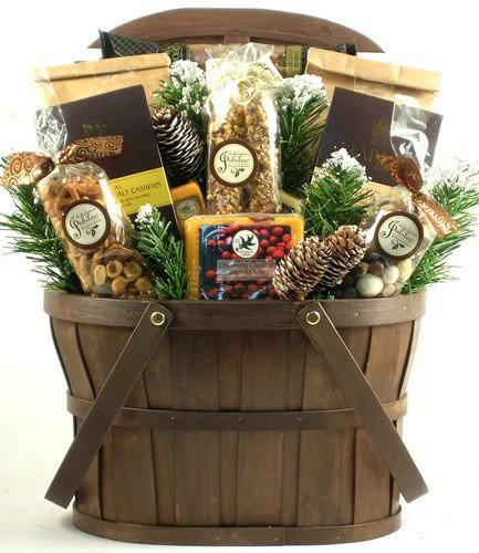 Gift Basket Village Woodland Wonders Holiday Gift Basket