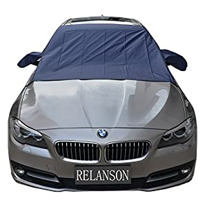 "RELANSON cdy-078 Premium Car Snow Cover - Windshield Snow Cover for Automobiles - Design Protects Windshield and Wipers from Snow, Ice, and Frost Build Up(62""x56"")"