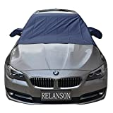 Relanson Premium Car Snow Cover - Windshield Snow Cover for Automobiles - Design Protects Windshield and Wipers from Snow, Ice, and Frost Build Up(62'x56')