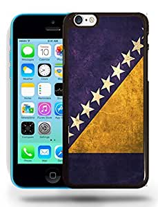 Bosnia and Herzegovina Vintage Flag Phone Case Cover Designs for iPhone 5C wangjiang maoyi