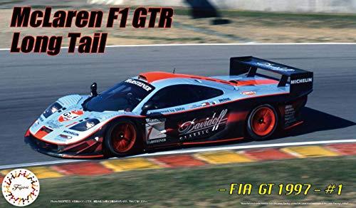 Fujimi Model 1/24 Real Sports car Series No.95EX-1 McLaren F1 GTR Long Tail 1997 FIA GT Championship # 1 DX Plastic RS95EX-1