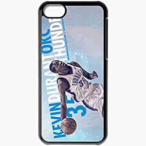 Personalized iPhone 5C Cell phone Case/Cover Skin 14929 thunder wp 41 sm Black