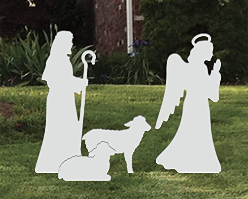 LARGE ANGEL, SHEPHERD, SHEEP ADD-ON by Front Yard Originals