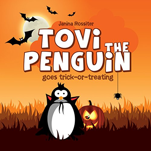Tovi the Penguin goes trick-or-treating]()