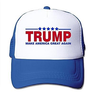 Women Men Make America Great Again Trump Adjustable Mesh Trucker Hat -5 Colors