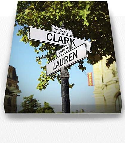 MuralMax Personalized City Street Sign