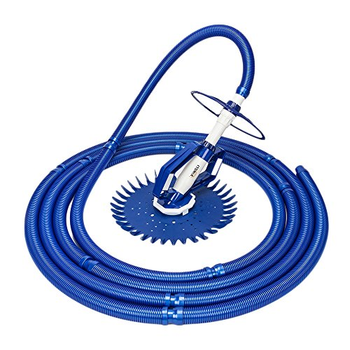 VINGLI Automatic Pool Cleaner in-Ground Suction-Side Vacuum-Generic Climb Wall Pool Sweeper ()
