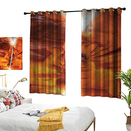 Lightly Turquoise Curtains Americana,Sandstone Sunbeam Canyon 84