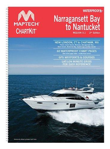 Narragansett Bay to Nantucket Chart Kit by Maptech