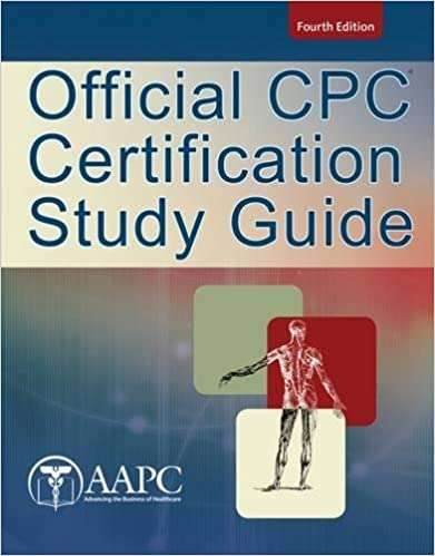 official cpc certification study guide 9781285451312 medicine