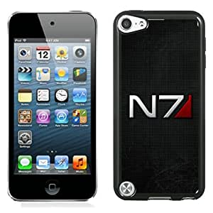 Beautiful And Unique Designed Case For iPod Touch 5 With mass effect n7 font background shadow Phone Case