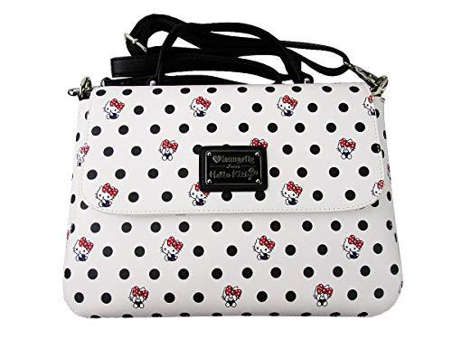 x Loungefly Hello Multi Polka Bag Crossbody Dot Kitty q778wnPd