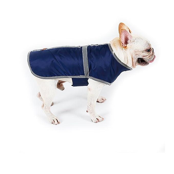 Impermeable a prueba de viento Chaleco de perro Reversible Abrigo de invierno Chaqueta de perro de cuadros británicos por HongYH: Amazon.es: Productos para ...