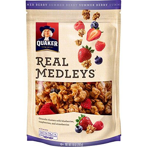 Review Quaker Real Medleys Granola,