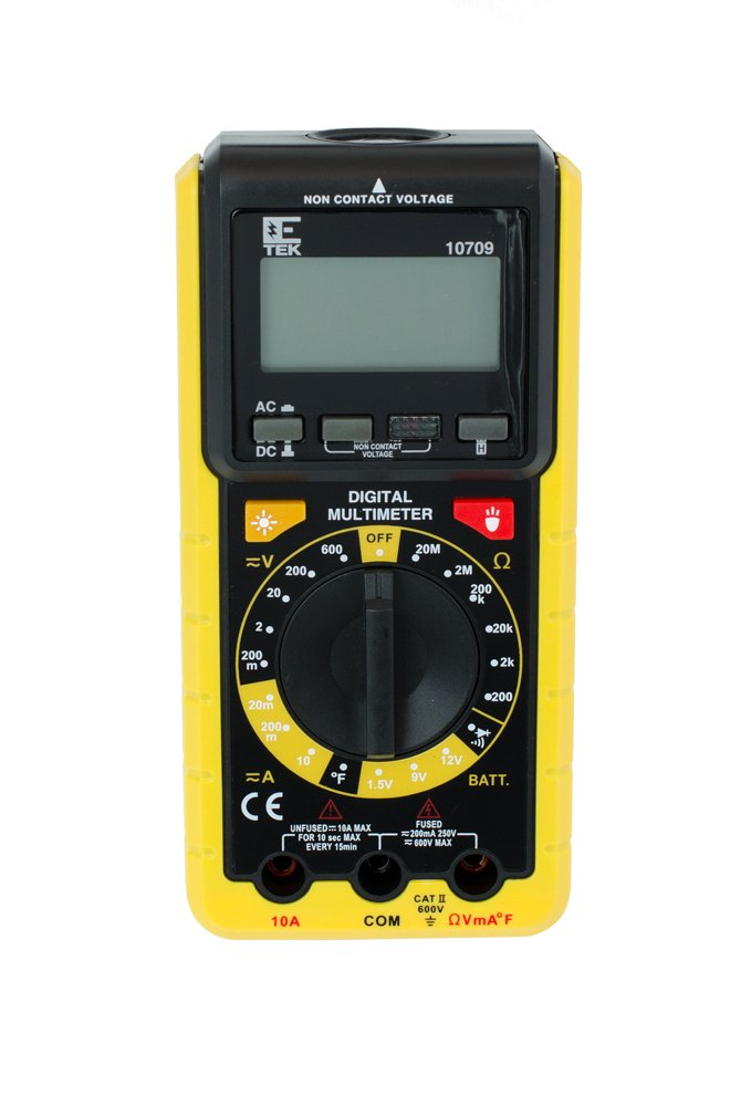 amazon com custom accessories 10709w e tek digital multi meter rh amazon com etek digital multimeter 10711w manual etek multimeter manual 10711