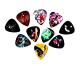 DC Comic Guitar picks (10 Medium picks in a packet) (Super Hero Picks)