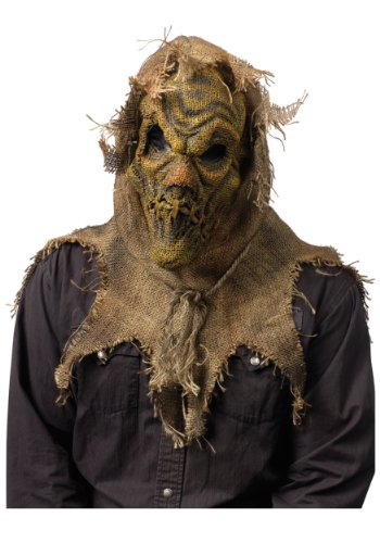 Fun World Men's Scarecrow Gunny Sack Mask, Multi -