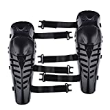 Peleustech Knee Support Guard Protector Safety Pad for Motorcycle Motobike Motocross Racing Rider Extreme Sports Protective Gear - Black