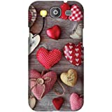 Printland Designer Back Cover For Samsung Galaxy S3 Neo - Cushion Heart Printed Cases