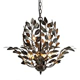 LNC 9 Leaves Indoor Pendant Lighting Chandeliers, A03293