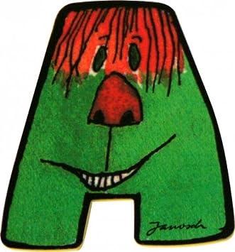Janosch Holzbuchstabe T farblich sortiert