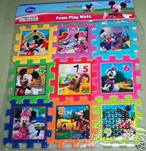 Amazon Com Disney Mickey Mouse Clubhouse Foam Play Mat