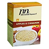 HealthSmart - High Protein Diet Oatmeal - Instant Hot Oatmeal - Apples & Cinnamon - 15g Protein - Low Calorie - Sugar Free - Gluten Free (7/Box)