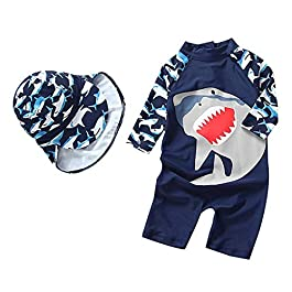 Bestmade Baby Swimming Costume – Baby Boy Swimming Suit | Baby Girl Swimsuit | Toddler One Piece Warm Sun Protection UV Swimsuit – 3 Months to 5 Years